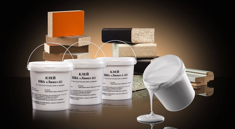 Adhesives for wood and furniture
